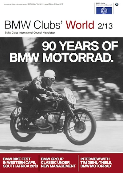 BMW Clubs' World 02/13