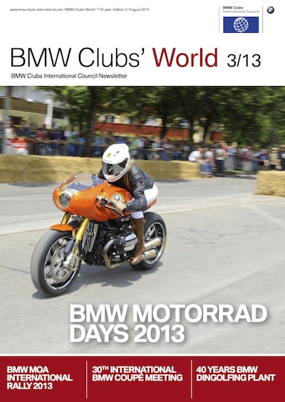 BMW Clubs' World 03/13