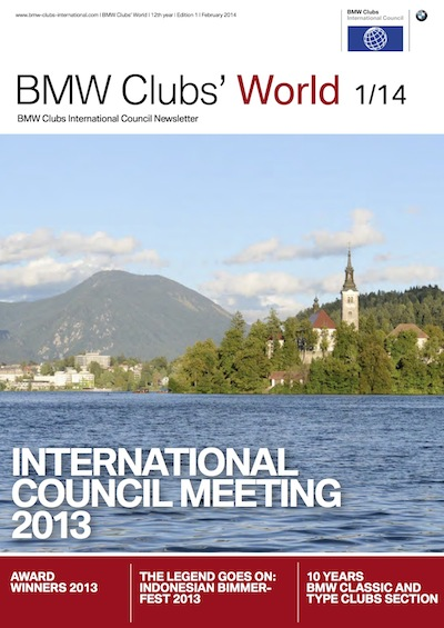 BMW Clubs' World 01/14