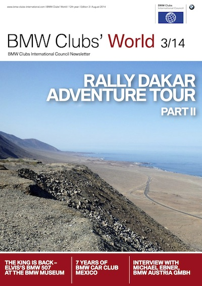 BMW Clubs' World 03/14