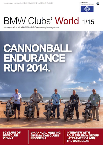 BMW Clubs' World 01/15